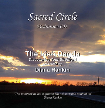 The Irish Dagda: Discovering your Birthright--CD by Diana Rankin