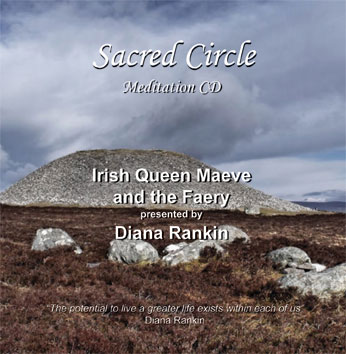 Irish Queen Maeve and the Faery--CD Presented by Diana Rankin