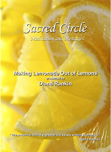 Making Lemonade out of Lemons--DVD Presented by Diana Rankin